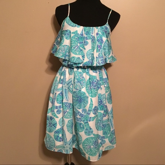 Lilly Pulitzer for Target Blue & White Dress